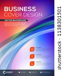 abstract vector business... | Shutterstock .eps vector #1138301501