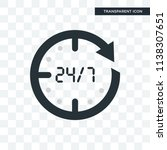 the 1 minutes vector icon... | Shutterstock .eps vector #1138307651
