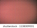 perforated film on advertising... | Shutterstock . vector #1138309031