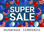 super sale poster flyer banner... | Shutterstock .eps vector #1138318211