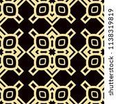 art deco pattern. seamless... | Shutterstock .eps vector #1138319819
