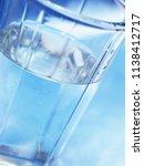 a glass of fresh water | Shutterstock . vector #1138412717