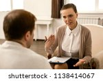 you have a depression syndrome. ...   Shutterstock . vector #1138414067