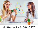 doctor nutritionist  dietician... | Shutterstock . vector #1138418507