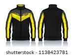 jacket design sportswear track...   Shutterstock .eps vector #1138423781