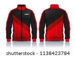 jacket design sportswear track... | Shutterstock .eps vector #1138423784