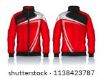 jacket design sportswear track...   Shutterstock .eps vector #1138423787