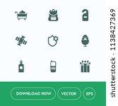 modern  simple vector icon set... | Shutterstock .eps vector #1138427369