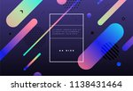 abstract geometric cover... | Shutterstock .eps vector #1138431464