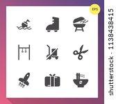 modern  simple vector icon set... | Shutterstock .eps vector #1138438415