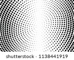 abstract halftone wave dotted... | Shutterstock .eps vector #1138441919
