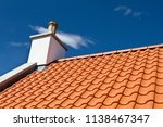 new roof tiles pattern and... | Shutterstock . vector #1138467347