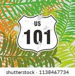 California Route 101 Graphic...