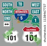 California Route 101 Graphic...