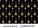flower geometric pattern.... | Shutterstock .eps vector #1138469207