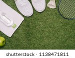 top view of various sport... | Shutterstock . vector #1138471811