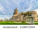 el capitolio  national capitol... | Shutterstock . vector #1138472504