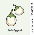 hand drawn vector illustration... | Shutterstock .eps vector #1138476227