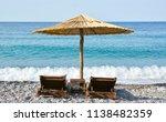 summer holiday vacation | Shutterstock . vector #1138482359