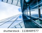 modern business skyscrapers.... | Shutterstock . vector #1138489577
