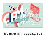 customer relationship... | Shutterstock .eps vector #1138517501