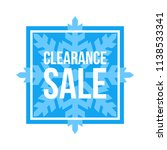 blue shop vector sign for a... | Shutterstock .eps vector #1138533341