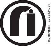 ri letter vector logo | Shutterstock .eps vector #1138534739