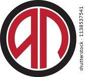 an letter vector logo | Shutterstock .eps vector #1138537541