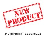 New Product Rubber Stamp Vecto...