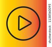 video  audio play icon  symbol. ...