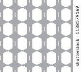 seamless geometric ornamental... | Shutterstock .eps vector #1138579169
