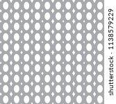 seamless geometric ornamental... | Shutterstock .eps vector #1138579229