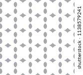 seamless geometric ornamental... | Shutterstock .eps vector #1138579241
