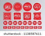Red Sale Banner. Big Collectio...