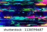 unique design abstract digital... | Shutterstock . vector #1138598687