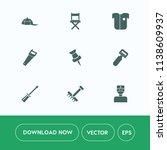 modern  simple vector icon set... | Shutterstock .eps vector #1138609937