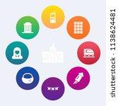 modern  simple vector icon set... | Shutterstock .eps vector #1138624481