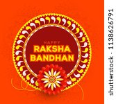illustration of raksha bandhan... | Shutterstock .eps vector #1138626791