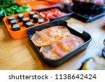 shabu shabu asian cuisine | Shutterstock . vector #1138642424