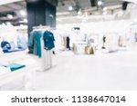 abstract blur shopping mall and ... | Shutterstock . vector #1138647014