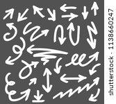 illustration of grunge sketch... | Shutterstock .eps vector #1138660247