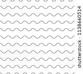 wavy  zigzag  sinuous... | Shutterstock .eps vector #1138660514