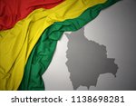 waving colorful national flag... | Shutterstock . vector #1138698281