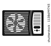 outdoor air conditioner fan... | Shutterstock .eps vector #1138699745