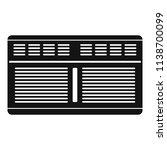 supermarket conditioner icon.... | Shutterstock .eps vector #1138700099