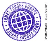 armed forces europe stamp... | Shutterstock .eps vector #1138727204
