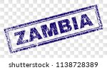 zambia stamp seal imprint with... | Shutterstock .eps vector #1138728389