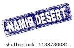 namib desert stamp seal print... | Shutterstock .eps vector #1138730081