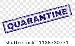 quarantine stamp seal print... | Shutterstock .eps vector #1138730771
