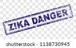 zika danger stamp seal print... | Shutterstock .eps vector #1138730945